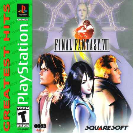 Final Fantasy VIII (Greatest Hits) – PS1 [Versione Americana]
