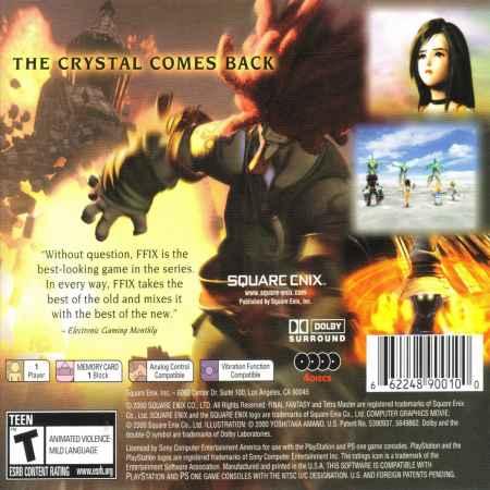 Final Fantasy IX (Greatest Hits) – PS1 [Versione Americana]