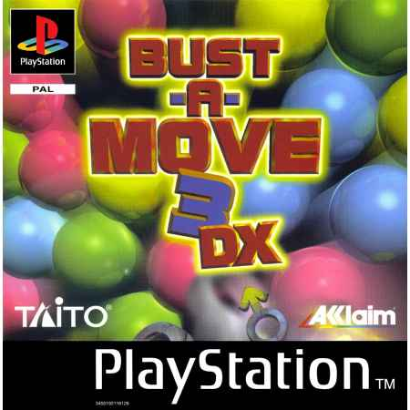 Bust A Move 3 DX – PS1 [Versione Italiana]
