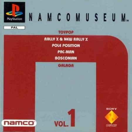 Namco Museum Vol.1 - PS1 [Versione Italiana]