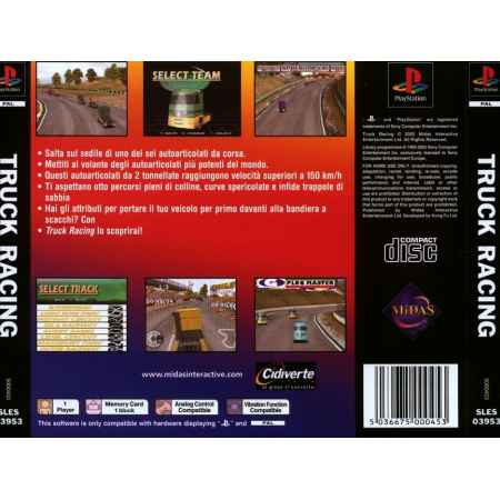 Truck Racing - PS1 [Versione Italiana]
