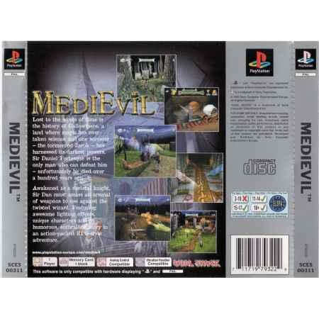 Medievil (Platinum) - PS1 [Versione Italiana]
