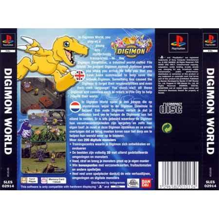 Digimon World - PS1 [Versione Italiana]
