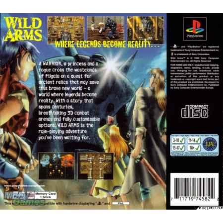 Wild Arms - PS1 [Versione Italiana]