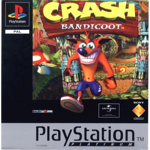 Crash Bandicot (Platinum) - PS1 [Versione Italiana]