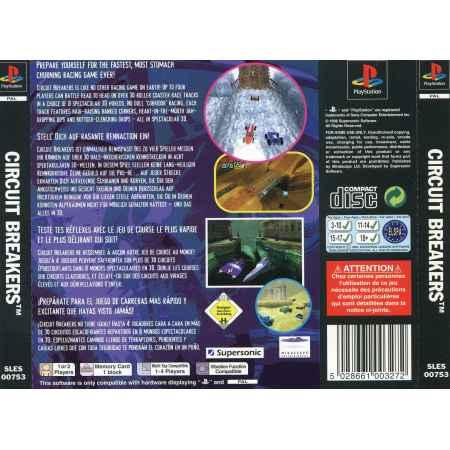 Circuit Breakers - PS1 [Versione Europea]