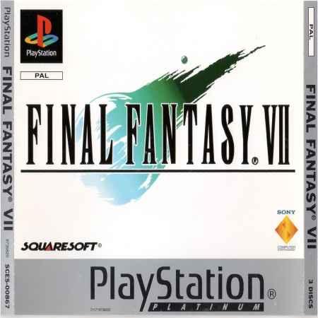 Final Fantasy VII (Platinum) – PS1 [Versione Europea]