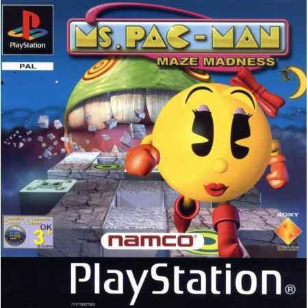 Ms. Pac Man: Maze Madness - PS1 [Versione Italiana]