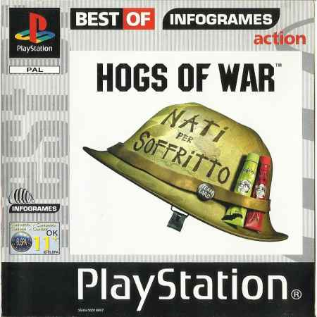 Hogs of War (Best Of Infogamers) - PS1 [Versione Italiana]
