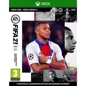 Fifa 21 - Champions Edition (include upgrade gratuito per Xbox Series X) - Xbox One [Versione EU Multilingue]