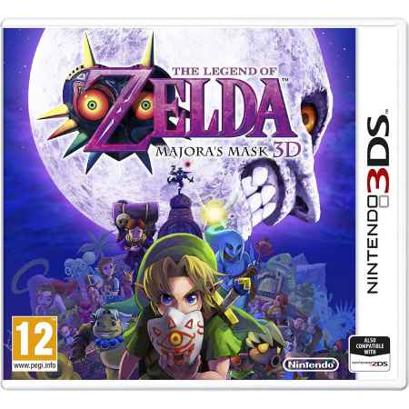 The Legend Of Zelda: Majora'S Mask 3D - Nintendo 3DS [Versione EU Multilingue]