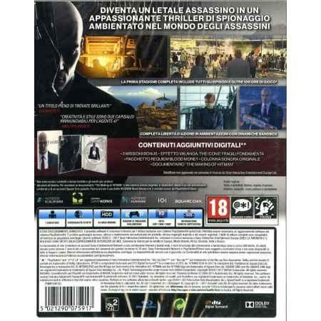 Hitman - La prima Stagione Completa (Steelbook Edition) - PS4 [Versione EU Multilingue]