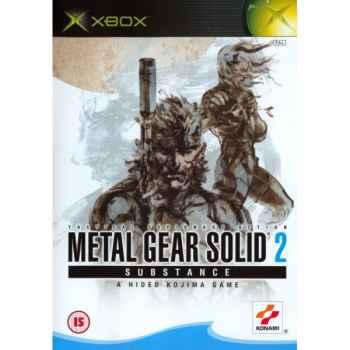 Metal Gear Solid 2 Substance - XBOX [Versione EU Multilingue]]