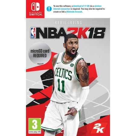 NBA 2K18 - Nintendo Switch [Versione EU Multilingue]