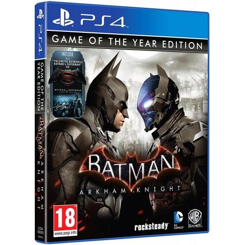 Batman Arkham Knight - Game Of The Year - PS4 [Versione Italiana]