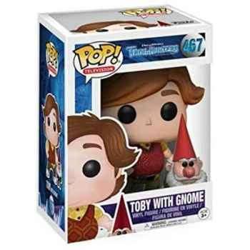 Funko Pop! 467 - Troll Hunters - Toby With Gnome