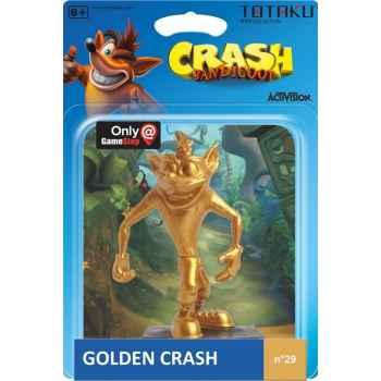 Totaku Action Figures 29 - Crash Bandicoot - Golden Crash