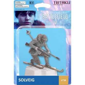 Totaku Action Figures 34 - Battlefield - Solveig (18.7 x 13.4 x 8.1 cm)