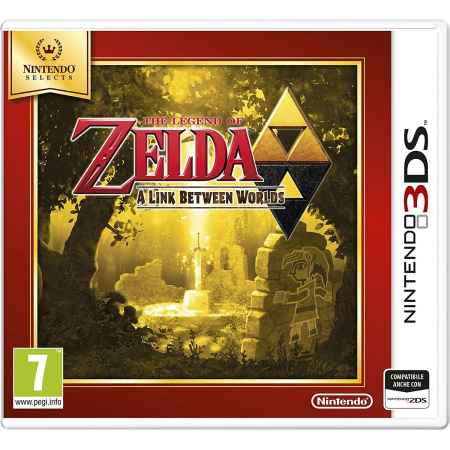 The Legend of Zelda: A Link Between Worlds - Nintendo 3DS [Versione Italiana] [Selects]