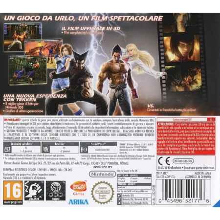 Tekken 3D Prime Edition -Nintendo 3DS [Versione Italiana]