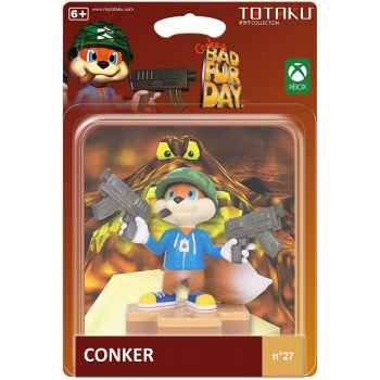 Totaku Action Figures 27 - Conkers Bad Fur Day - Conker (Confezione Rovinata)