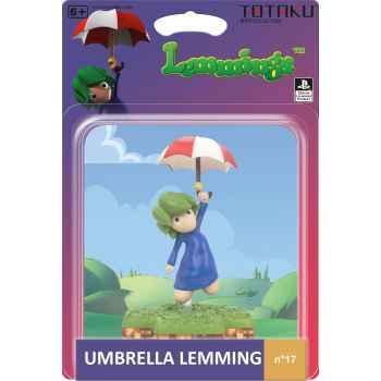 Totaku Action Figures 17 - Lemmings - Umbrella Lemming (Confezione Rovinata)