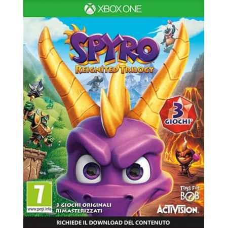 Spyro Reignited Trilogy - Xbox One [Versione EU Multilingue]