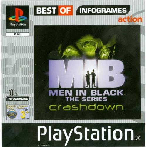 Men In Black The Series: Crashdown (Best Of Infogamers) – PS1 [Versione Italiana]