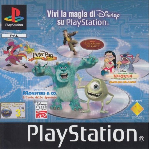 Disney Dinosauri - PS1 [Versione Italiana]