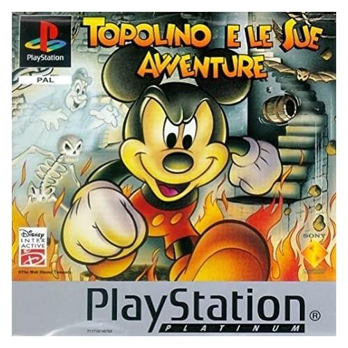 Topolino E Le Sue Avventure (Platinum) - PS1 [Versione Italiana]
