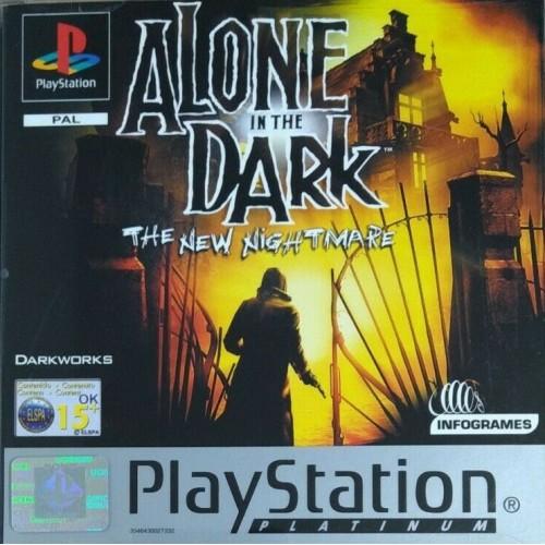 Alone In The Dark: The New Nightmare (Platinum) - PS1 [Versione Italiana]