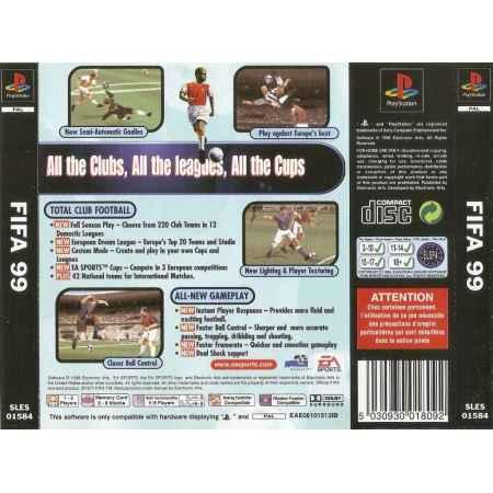 Fifa 99 - PS1 [Versione Italiana]