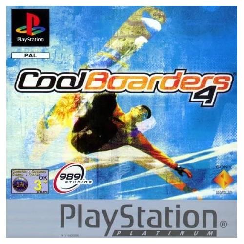 Cool Boarders 4 (Platinum) - PS1 [Versione Italiana]
