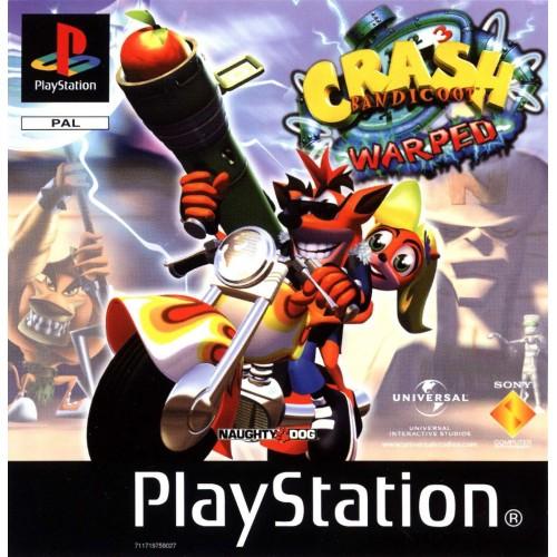 Crash Bandicoot 3: Warped - PS1 [Versione Inglese]