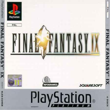 Final Fantasy IX (Platinum) – PS1 [Versione Italiana]