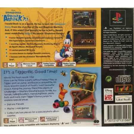 Paperino Operazione Papero + Tigro E La Caccia Al Miele (2 Games) - PS1 [Versione Italiana]