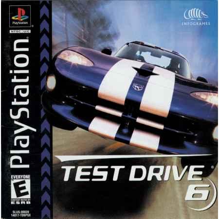 Test Drive 6 – PS1 [Versione Americana]
