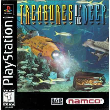 Treasures Of The Deep - PS1 [Versione Americana]