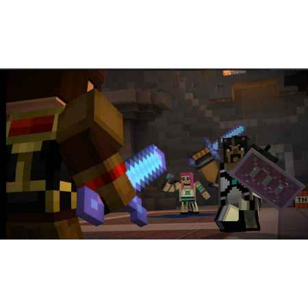 Minecraft: Story Mode - The Complete Adventure - PS4 [Versione EU]