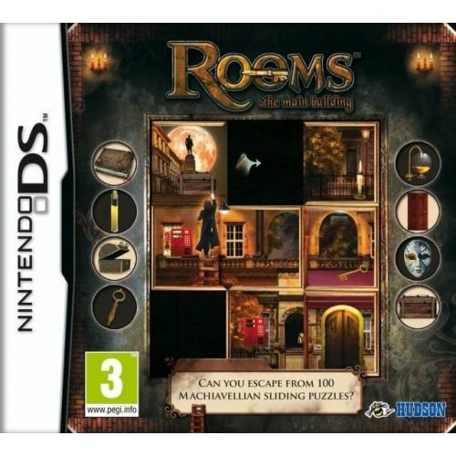 Rooms: The Main Building - Nintendo DS [Versione Italiana]