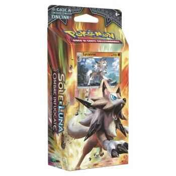 Pokemon Sole e Luna Ombre Infuocate mazzo tematico Roccia Ferma (IT)