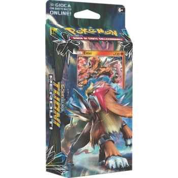 Pokemon Sole e Luna Tuoni Perduti mazzo tematico Lapilli Roventi (IT)