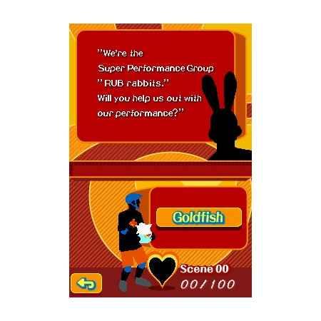 Project Rub - Nintendo DS [Versione Italiana]
