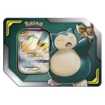 Pokemon Tin da collezione Alleati Eevee e Snorlax- GX (IT)