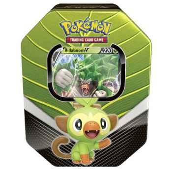 Pokemon Tin da collezione Compagni d'avventura di Galar - Rillaboom- V (IT)