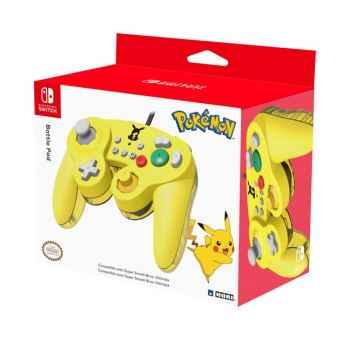 Controller Hori Nintendo Swith - Battle Pad Pikachu Per Nintendo Switch