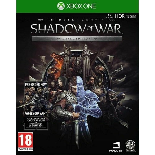 La Terra di Mezzo: L'Ombra della Guerra - Silver Edition (Steelbook) - Xbox One [Versione EU Multilingue]