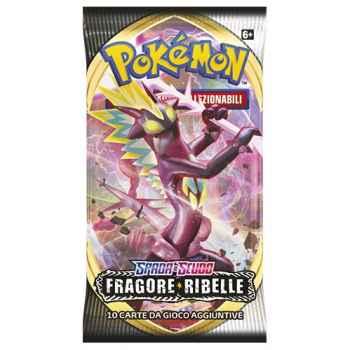 Pokemon Spada e Scudo Fragore Ribelle busta 10 carte (IT)