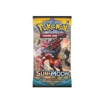 Pokemon Sun and Moon busta 10 carte (ENG)