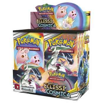 Pokemon Sun and Moon Cosmic Eclipse display 36 buste (ENG)